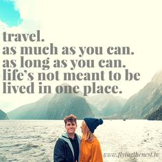 We love a good inspirational travel quote. Today we want to share with you 10 of our favourite travel quotes to get motivated to explore the world… Jobs fill your pocket, adventures fill your soul. Flying The Nest, Travel Quotes, Read More, Travel Inspiration, Meant To Be, Adventure, Motivation, Words, Wander