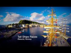 Tall Ships Race in Alesund, Norway. Video Contest 2015 - Travel With Drone - Best Drone Videos - Drone Travel