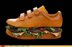 Burger Sneakers, I need a pair.