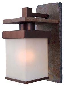 Boulder 1 Light Lg. Wall Lantern