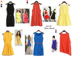 Looking for sleeveless dress to spice up your outing? Take a peep at Halter Scallop Dress (MYR49) http://www.octoberorigin.com/store/Halter+Scallop+Dress/q?m=prod&prod_id=127&in=1, Yellow Dolly Skater Dress (MYR62) http://www.octoberorigin.com/store/Yellow+Dolly+Skater+Dress/q?m=prod&prod_id=115&in=1