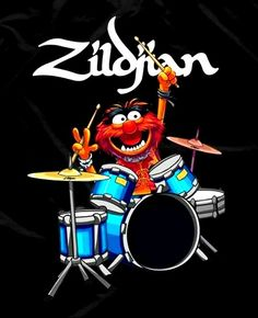 Drummer Gifts, Drummer Boy, Classic Cartoon Characters, Classic Cartoons, Bill Berry, Drums Wallpaper, Drums Studio, Little Feat, Rock Band Posters