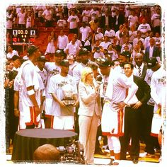 Miami Heat celebrating their second straight #NBA #Finals appearance