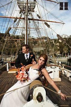 dream wedding location: on a sailing yacht