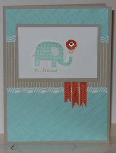 Inspired by Stamping T - Patterned Occasions set card for class on 1/28 & 1/29