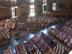 Quilts of valor to be presented to returning troops, wow!