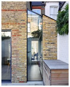 Extension Designs, Glass Extension, House Extension Design, House Design, Extension Ideas, Patio Design, Victorian Terrace House, Edwardian House, Victorian Homes