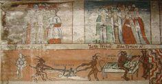 """Biserica de lemn """"Cuvioasa Paraschiva"""" , sat POIENILE IZEI, Pictura"""