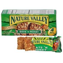 Put in stockings. . . Bulk Nature Valley Oats 'N Honey Crunchy Granola Bars, 4-ct. Boxes at DollarTree.com