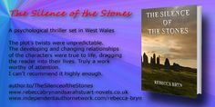 Five star book review quote - mystery thrillers and suspense  author.to/TheSilenceoftheStones