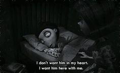 Frankenweenie, movie, quote, heart, I miss you
