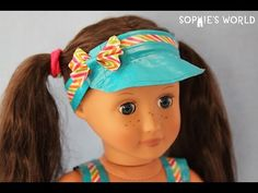Make a Doll Visor Pt. 1 - YouTube