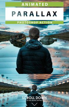 Animated #Parallax Photoshop Action - Photo Effects #Actions #PSAction #Photoshop #PS #Graphicriver #PhotoEffects #Digitalart #Design