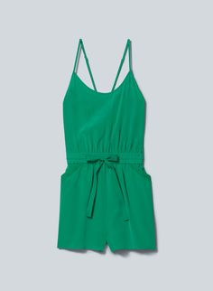 Love love this. To bad winter's here soon. ):  Wilfred PÉRI ROMPER | Aritzia