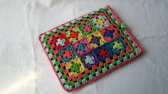 Crochet iPad Cover iPad Cosy Colourful by AddiesKnittedGifts, £15.00