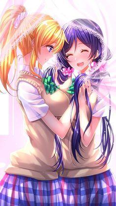 Eli Ayase & Nozomi Tojo
