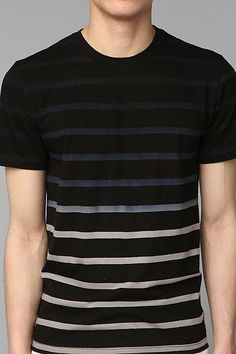 BDG Dip-Dye Stripe Slim Fit Tee... absolutely in love with this!! size M