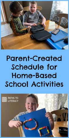 Parent-created schedule for home-based school activities for children who are blind, visually impaired or deafblind Home Activities, Educational Activities, Home Learning, Home Schooling, Literacy, School Schedule, Parenting, Daily Routines, Student