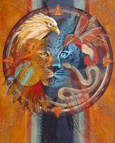 The Medicine Wheel , Shaman's Allies by Lynn Berryhill  http://www.lynnberryhill.com/