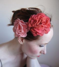 Mariages Rétro: ETSY : les fleurs de feutrine Crafts 2 Cherish