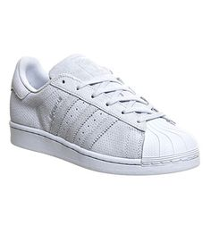 Adidas Superstar Gs Halo Blue Mono Suede - Hers trainers