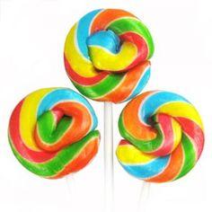 Rainbow Retro Lollipop