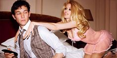 Also, it's sexy to be groped by Claudia Shiffer and just to be JGL in general