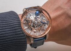 Hands-on review of the polarizing and outrageous Jacob & Co. Astronomia Tourbillon watches with video, photo gallery, prices, and analysis.