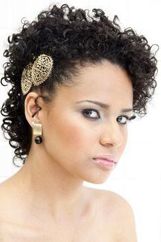 Penteado para cabelos curtos – Beleza Natural | Bonito é ser você