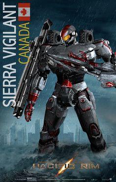 Pacific Rim Jaeger Fan Art Sierra Vigilant/ by ~rs2studios