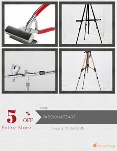 Get 5% OFF our Entire Store now! Enter Coupon Code: PASSIONATEART Restrictions: Min purchase: USD 50.00, Expiry: 31-July-2015. Click here to avail coupon: https://orangetwig.com/shops/AABBTao/campaigns/AABBWHq?cb=2015007&sn=PioneerArt&ch=pin&crid=AABBWIN