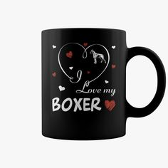 I love my #Boxer  , Order HERE ==> https://www.sunfrog.com/Pets/117621230-519171467.html?53624, Please tag & share with your friends who would love it, #birthdaygifts #christmasgifts #renegadelife