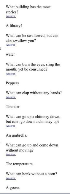 Funny Riddles With Answers Hilarious , Funny Riddles With Answers – Humor Funny Jokes And Riddles, Funny Puzzles, Dad Jokes, Riddles Kids, Brain Riddles, Tricky Riddles, Puns Jokes, Logic Puzzles, Funny Quotes