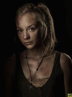 Beth Greene. WTF!? Didn't see that one coming! Poor Daryl! :(