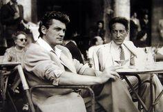 Jean Cocteau et Jean Marais