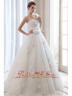 Brush Train Wedding Dress In So Jos Dos Campos Cheap Dressdiscount Dressaffordable Dressfree Shipping Dres