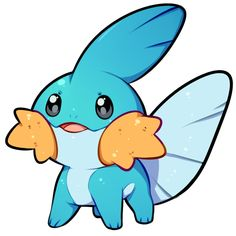 0055aa0e Pokemon Craft, Pokemon Fan Art, All Pokemon, Cute Pokemon, Draw Pokemon,  Pokemon Stuff, Valentine Drawing, Pokemon Starters, Mudkip