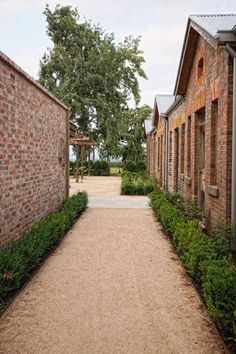 Love the red brick