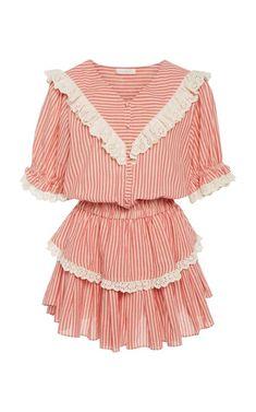 Nanette cotton mini dress by LoveShackFancy | Moda Operandi
