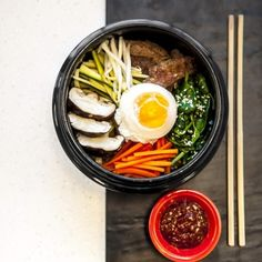 Bibimbap #korean #healthy #veggies