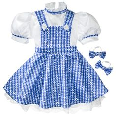 Child The Wizard of Oz Dorothy Costume - X-S (2-4)