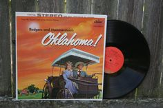 Oklahoma Motion Picture Soundtrack 1960 Vintage Vinyl Record Album Broadway Musical on Etsy, $10.00