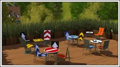 Road Sign Furniture @ Around the Sims 3