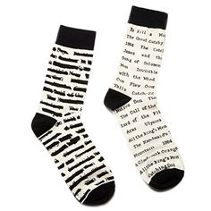 """News """"Banned Books"""" and """"Library Card"""" Literary Socks - Purchase Donates a Book (Large 10-13, Banned Books)   buy now     $13.99 Out Of Print continues to come up with new designs for book lovers. These socks are top quality and communicate love of the wr... http://showbizlikes.com/banned-books-and-library-card-literary-socks-purchase-donates-a-book-large-10-13-banned-books/"""