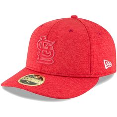 50b95ced24c Men s St. Louis Cardinals New Era Red 2018 Clubhouse Collection Low Profile  59FIFTY Fitted Hat