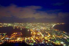 La nuit à Hakodate 2/2 Akira_Oka, Japan