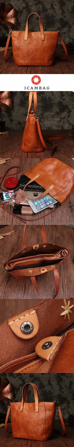 Genuine Leather Handmade Women's Handbags,Large Vintage Tote Bags 9671 Handbags For Men, Tote Handbags, Leather Handbags, Leather Pouch, Cow Leather, Chanel Tote, Leather Accessories, Canvas Tote Bags, Fashion Bags
