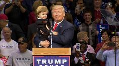 Trump to Baby Look-A-Like: 'You Are Much Too Good Looking'