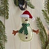 felt christmas tree decs