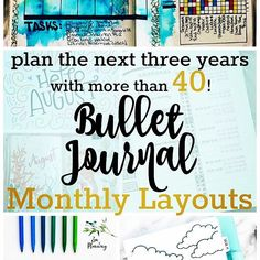 FINALLY! Post number two! After scouring Instagram for bullet journal monthly spreads, the blog post is finally live. (Link in bio) Thank you to all you bullet journalists that contributed. With 40 gorgeous spreads I'll have to post twice to tag you all i